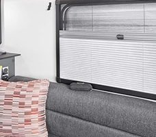 swift-basecamp-special-edition-pleated-window-blinds-Tamar-Caravan-Centre-plymouth