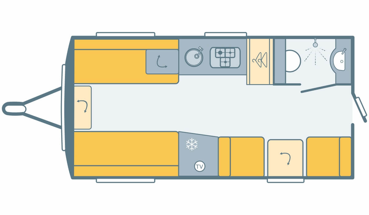 Graphic image of Basecamp 4 layout